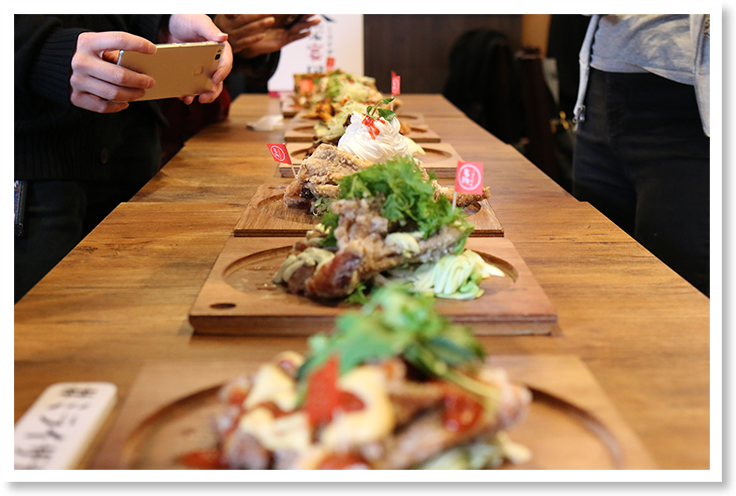 ミライアンバサダー企画第2弾 グローブ揚げ新味試食会の写真3