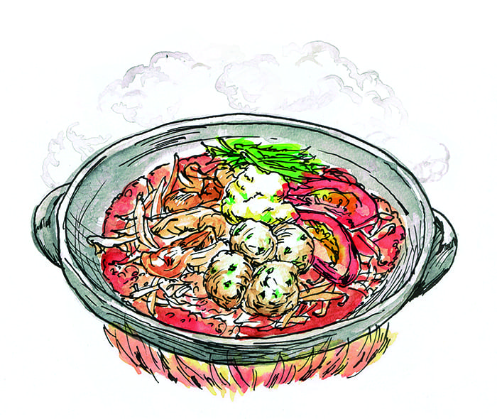 寒くなってきたこの時期にうれしい、「ミライザカ」のお鍋です!