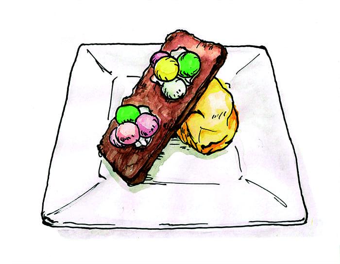 「ミライザカ」でのお食事の締めに、自慢のスイーツをどうぞ!