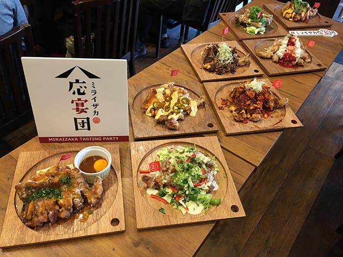 「ミライアンバサダー企画・モモ一本グローブ揚げ新味 試食会」開催!