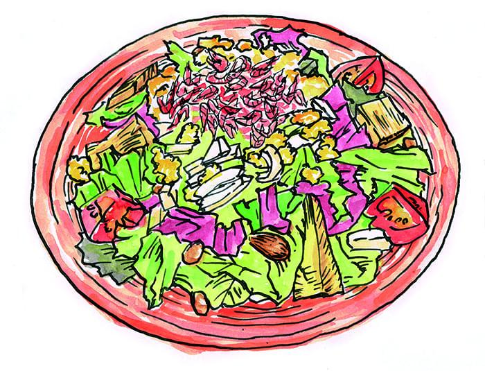 最近流行の「パワーサラダ」ってご存じですか?
