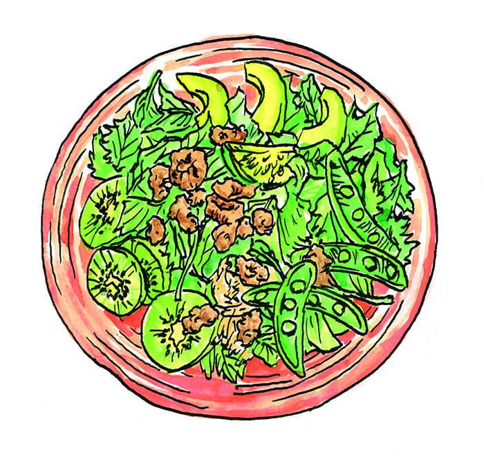 「ミライザカ」のパワーサラダなど、初夏だけの特別メニューをご紹介いたします。