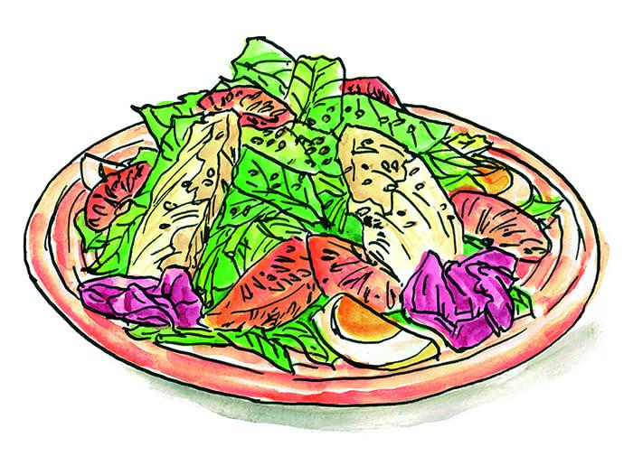 8/24はドレッシングの日! 「ミライザカ」の特製サラダはいかが?