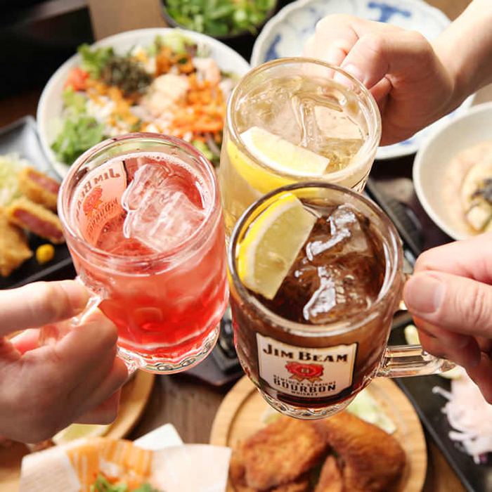 ミライザカのノンアルコール飲み放題は500円お得になります!