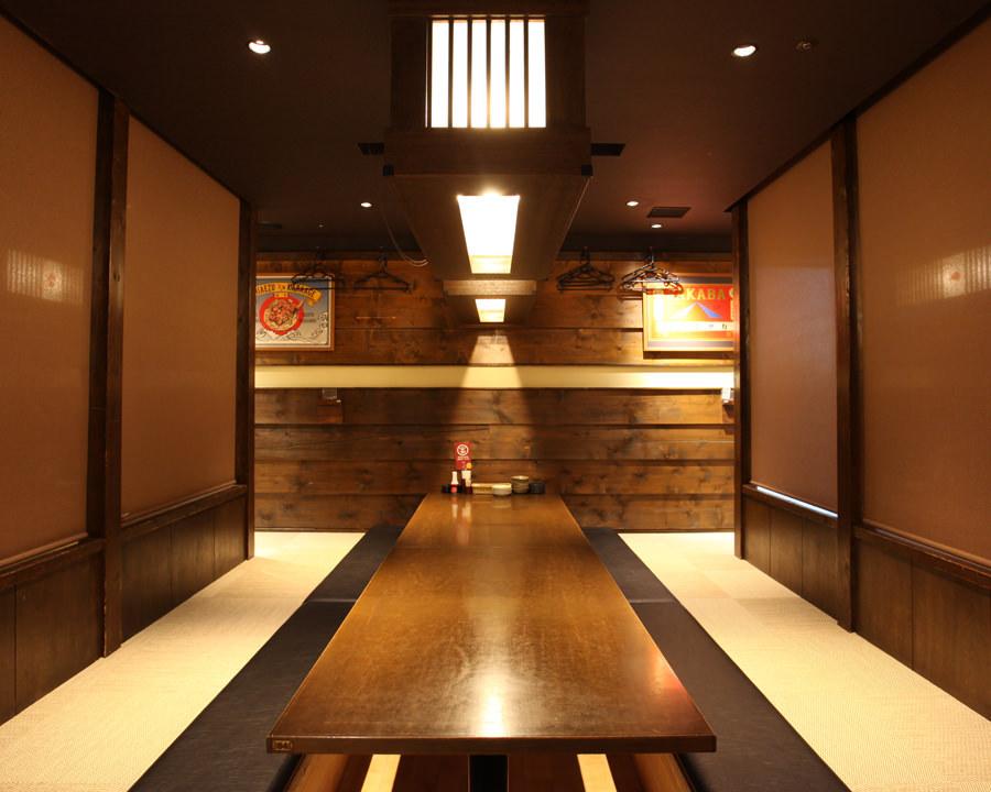 甲府でゆったりくつろぎの宴会ができる居酒屋『ミライザカ』です